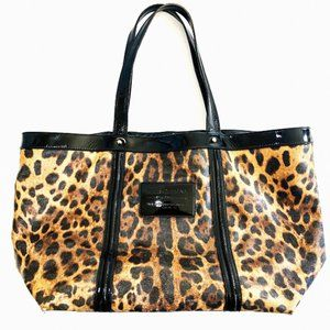 Dolce & Gabbana Miss Escape Leopard Print Tote 🎾